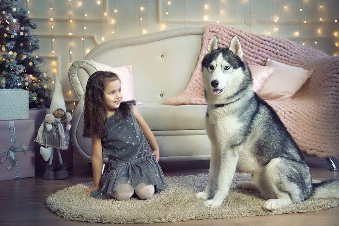 ФОтосессия в Коломне с собакой