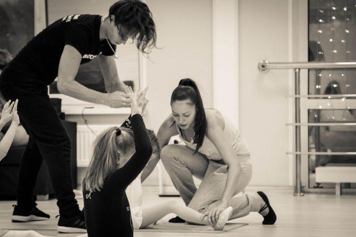 Фото с тренировки по танцам