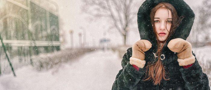 Зимняя фото обработка