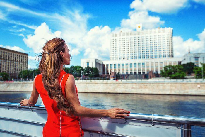 Фото с Белым домом Москва
