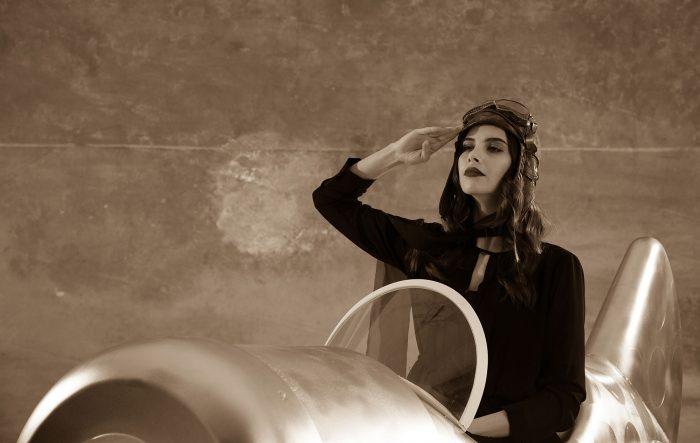 Ретро фото самолет
