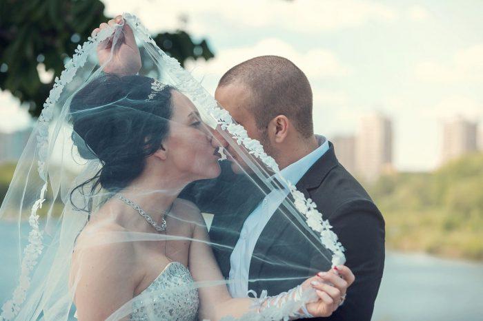 Свадьба в Раменском фото с озера