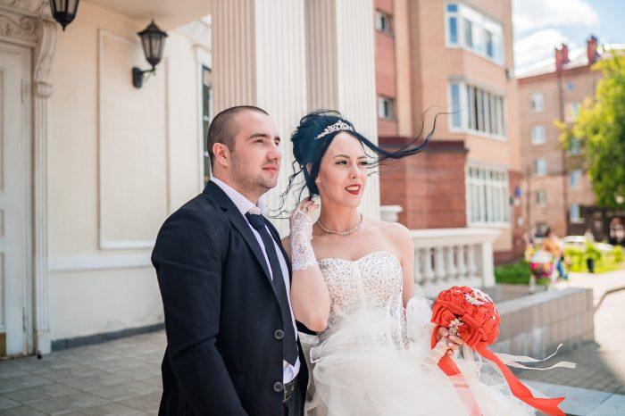Свадьба в Раменском фото у ЗАГСа