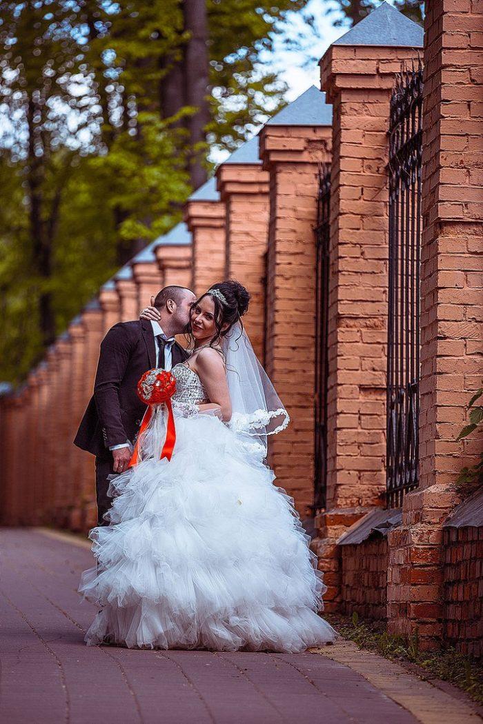 Свадьба в Раменском фото в парке