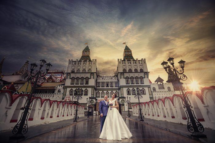 Свадебное фото Измайловский кремль