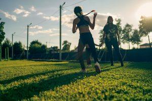 Фотоосессия спорт лето с детьми