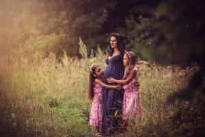 В ожидании чуда: фотосессия с детьми