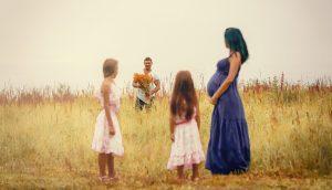 В ожидании чуда: фотосессия для беременных