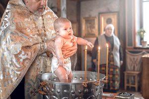 Крещение - купание