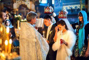 Фотосессия венчания широкий ракурс
