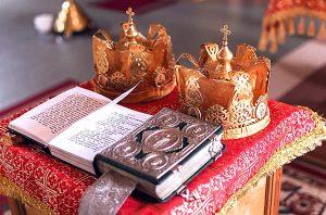 Фотосессия венчания: библия